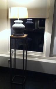 bijvoorbeeld om een lamp op te plaatsen